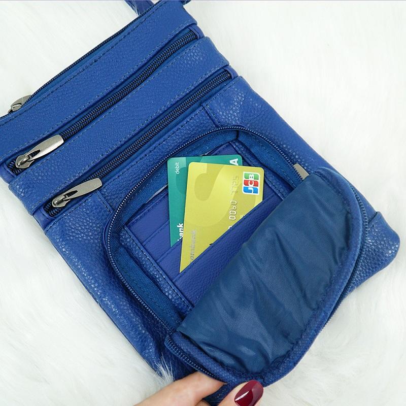 ngăn đựng card túi đeo chéo sb68 size S
