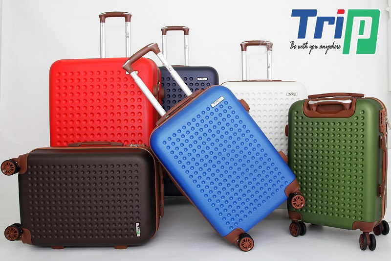 tổng các màu bộ 3 vali trip p803a size 28inch