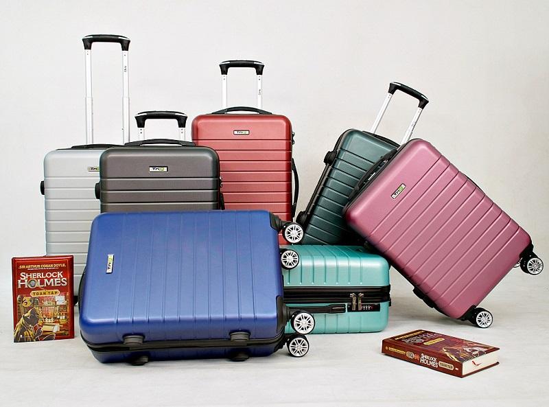 tổng các màu bộ 3 vali trip pc911