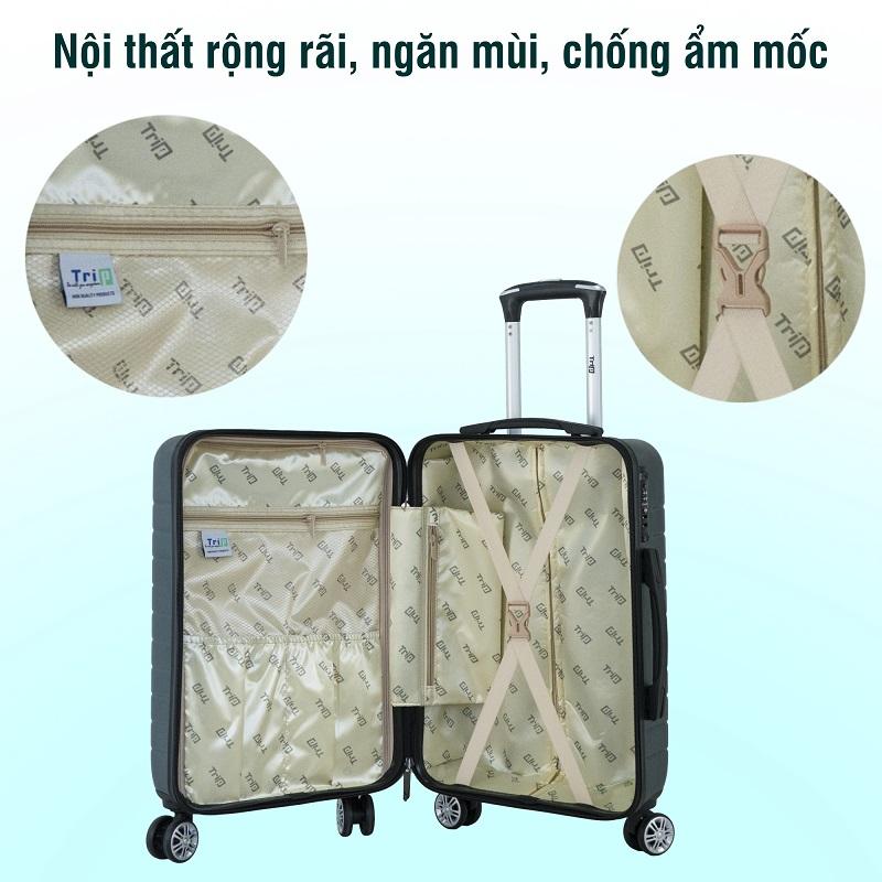 khoang chứa đồ bộ 2 vali trip pc911