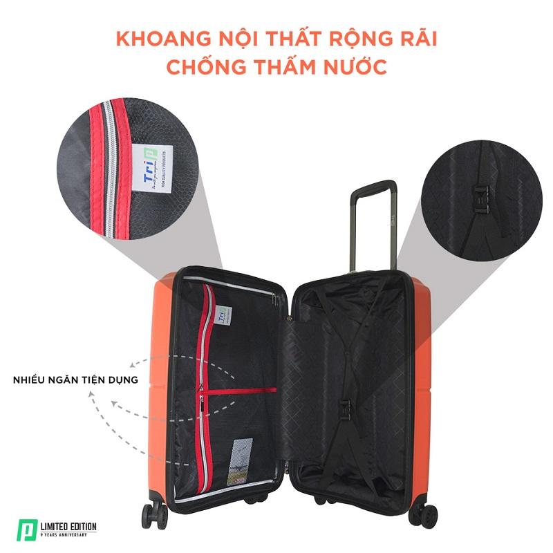 khoang chứa đồ vali trip pp915